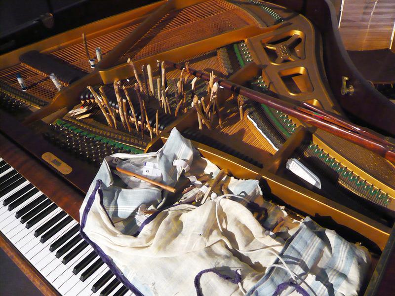 Silencers - Prepared Piano