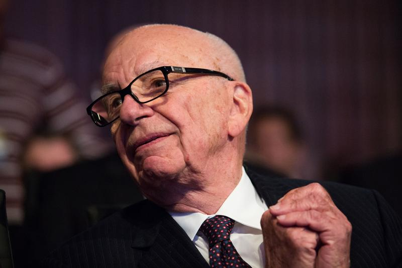 Rupert Murdoch's 21st Century Fox made an unsuccessful $80bn bid for rival Time Warner. (Drew Angerer-Pool/Getty Images)