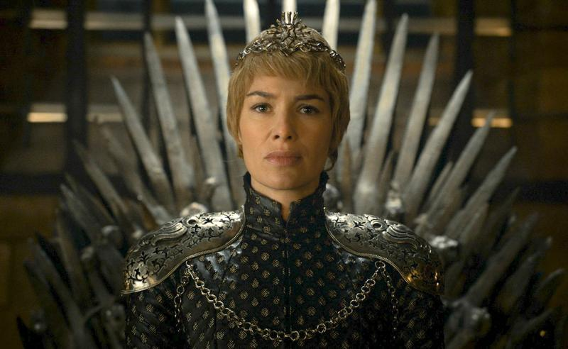 """Actress Lena Headey appears in a scene from """"Game of Thrones."""" (HBO via AP)"""
