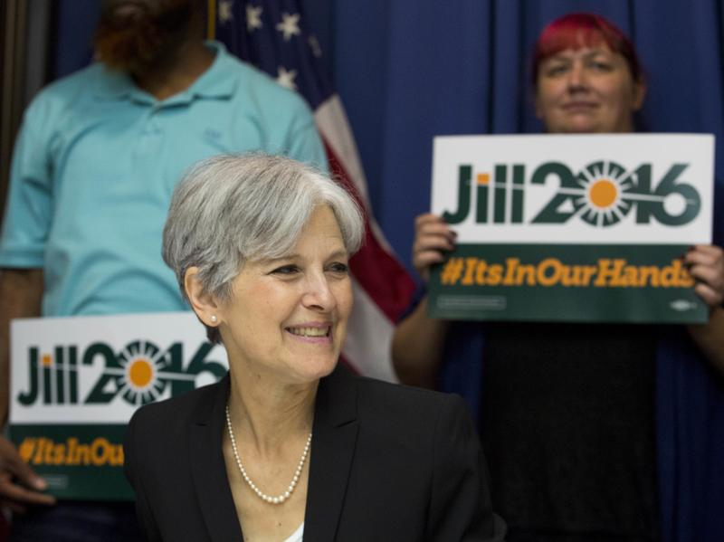 Jill Stein nabbed the Green Party nomination for her second presidential bid on Saturday, after running in 2012. She hopes the wave of Sanders supporters will help make her a viable third-party challenger.