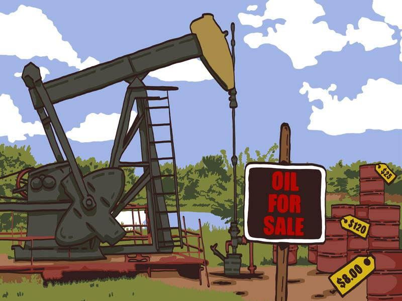 How do you determine the price of oil?