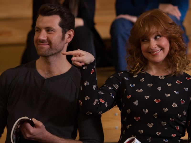 Billy Eichner and Julie Klausner quip about show business in <em>Difficult People.</em>