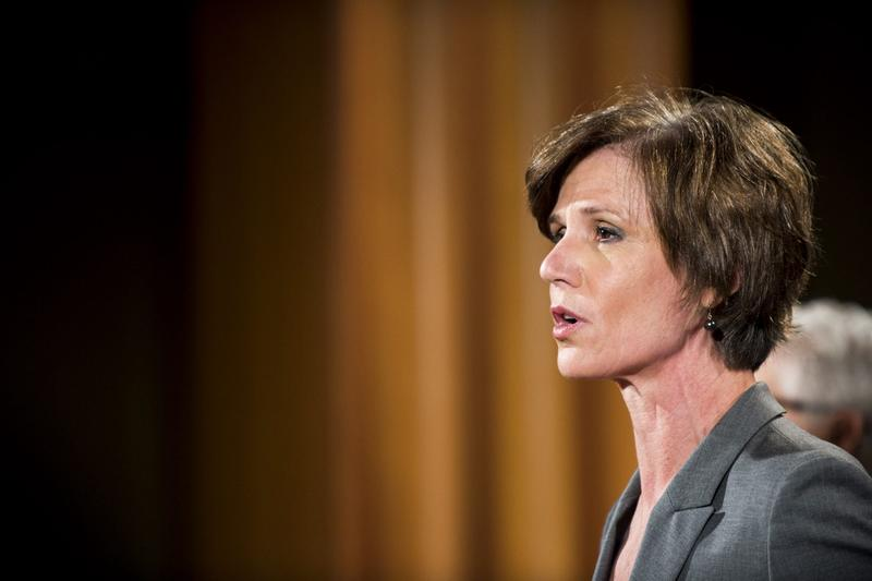 Deputy Attorney General Sally Yates speaks during a press conference at the Department of Justice on June 28, 2016 in Washington D.C. (Pete Marovich/Getty Images)