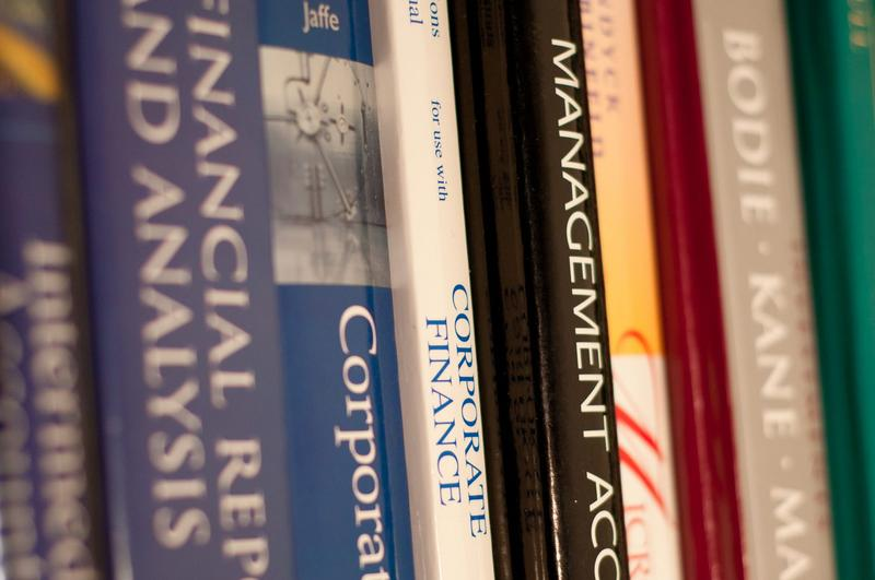 The price tag for a college education has skyrocketed in recent years. And having to pay hefty prices for textbooks certainly isn't helping. (John Liu/Wikimedia Commons)