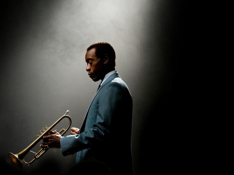 Don Cheadle stars as Miles Davis in the film <em>Miles Ahead.</em>