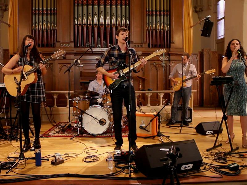 Ages and Ages perform live in The Old Church in Portland, Ore.