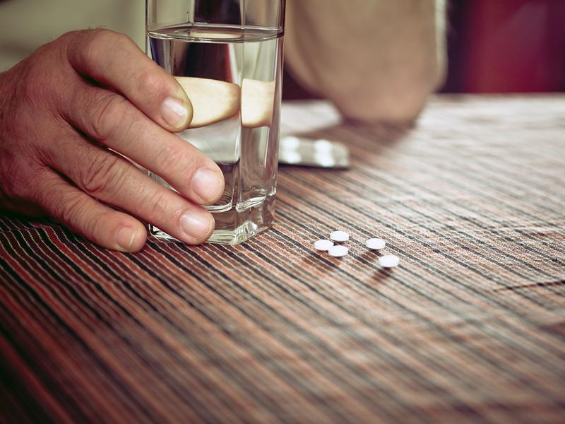 Nearly half of Americans 12 and older take sedatives, stimulants, painkillers or tranquilizers.