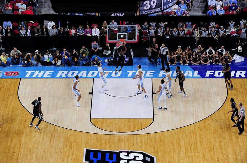 A second-round game during the NCAA Men's Basketball Tournament on March 19, 2016 in Raleigh, N.C. (Grant Halverson/Getty Images)