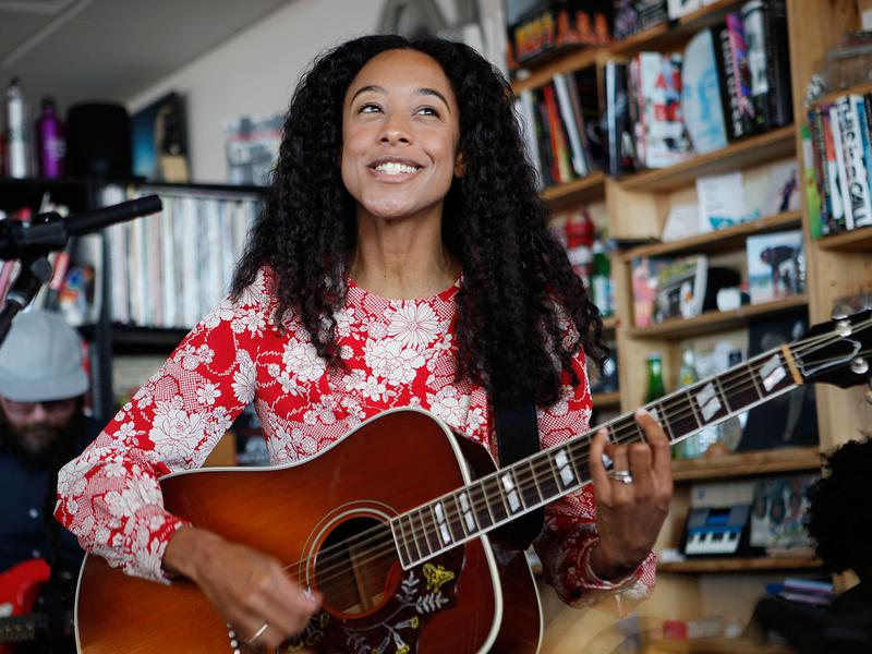 Tiny Desk Concert with Corinne Bailey Rae.