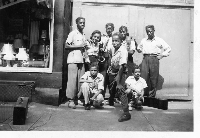 A photograph from Laura Fitzpatrick's collection, which was donated to the new National Museum of African American History and Culture. The set of more than 500 images from the late 1930s to the 1940s captured the lives of African Americans in and around New York City and the Brooklyn borough during the period. (Courtesy Daniel S. Evans)