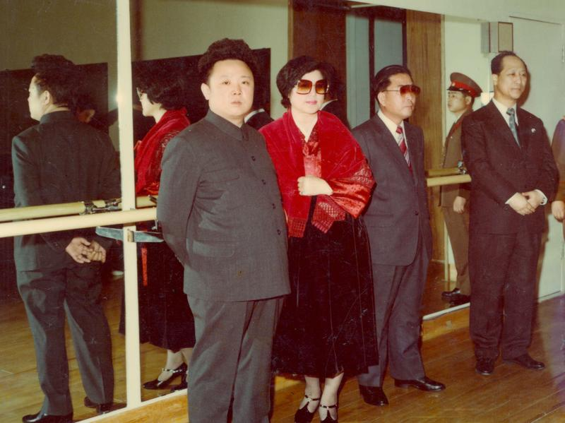 <strong>Not So Lonely Anymore:</strong> (from left) Kim Jong Il, Choi Eun Hee and Shin Sang Ok in <em>The Lovers and the Despot</em>.