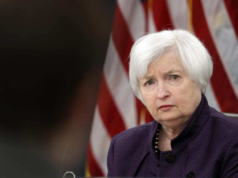 Federal Reserve Board Chair Janet Yellen told reporters Wednesday that although the Fed is holding its benchmark interest rate steady, she still expects it to raise the rate this year.