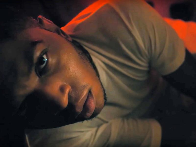 """Gallant is held hostage in his new video for """"Skipping Stones."""""""