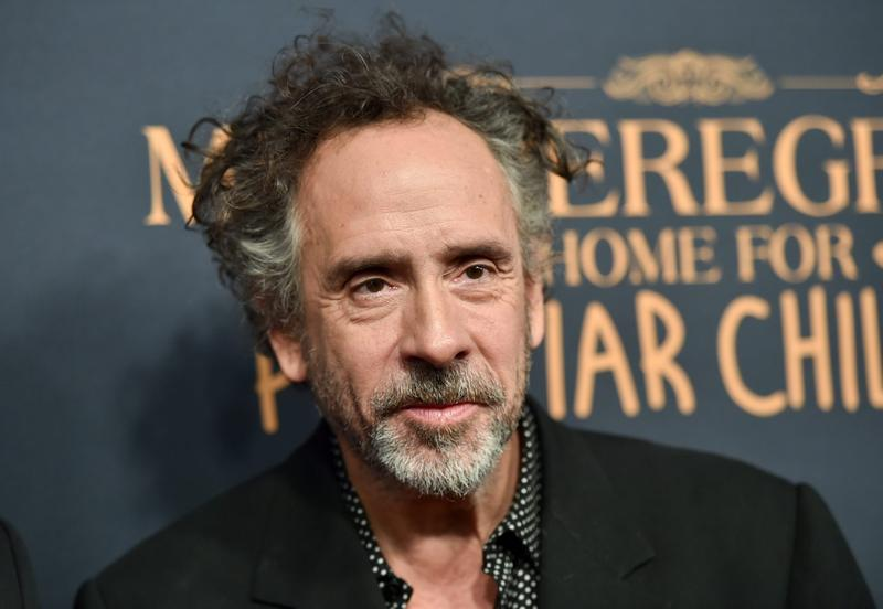 "Director Tim Burton attends a ""Miss Peregrine's Home for Peculiar Children"" red carpet event at Saks 5th Avenue on Monday, Sept. 26, 2016, in New York. (Evan Agostini/Invision/AP)"