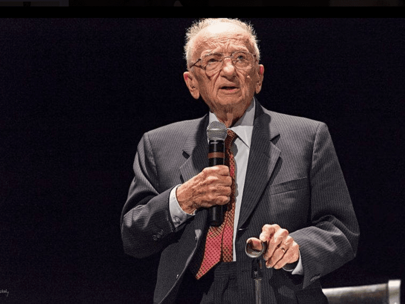 Benjamin Ferencz is now 96 and lives in Florida.