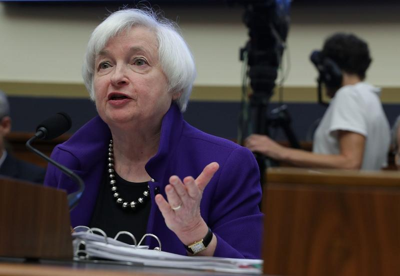 Federal Reserve Board Chair Janet Yellen testifies during a hearing before the House Financial Services Committee Sept. 28, 2016 on Capitol Hill in Washington. (Alex Wong/Getty Images)