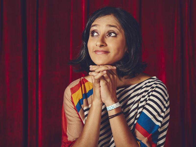 "Aparna Nancherla says that making jokes about depression and anxiety injects ""a little dose of hope."""