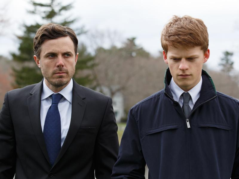 Casey Affleck and Lucas Hedges in the drama <em>Manchester by the Sea</em>, written and directed by Kenneth Lonergan.