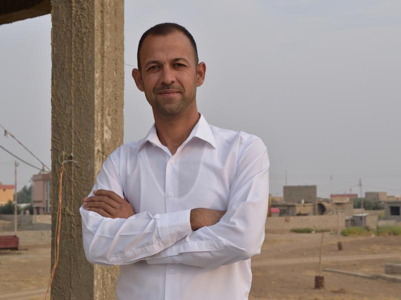 Barakat Ali is a Yazidi refugee and musician who has contributed to the recording project Music in Exile.