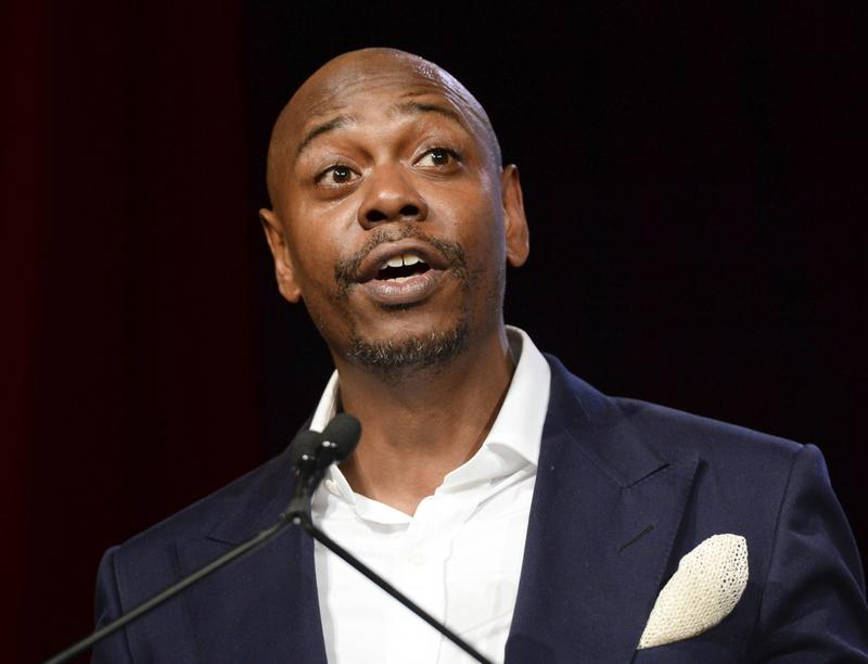 Comedian Dave Chappelle speaks at an event in New York in July 2015. (Scott Roth/Invision/AP)