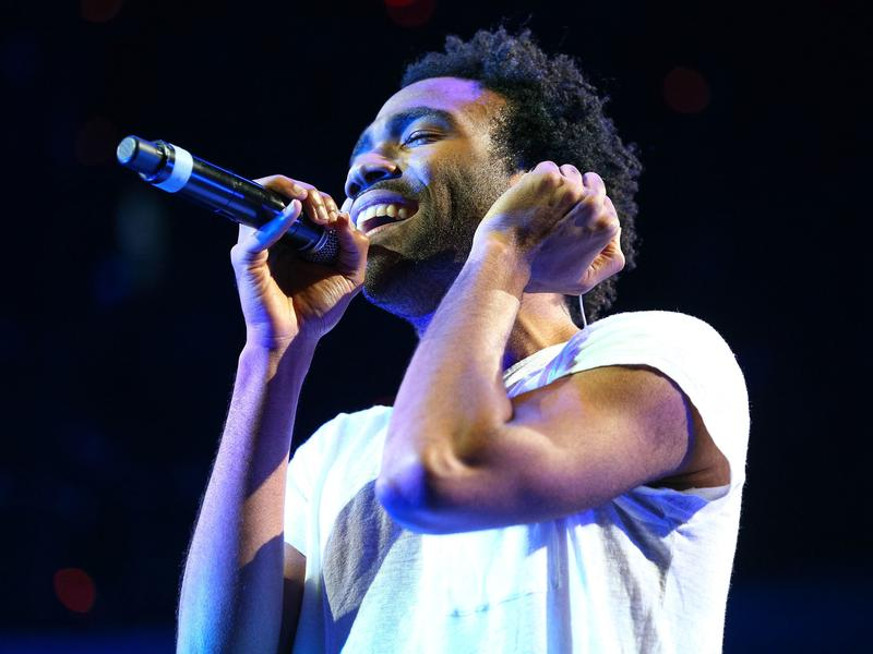 Childish Gambino performs onstage in Anaheim, Ca. in 2014. His new album, <em>Awaken, My Love!</em>, comes out Dec. 2.