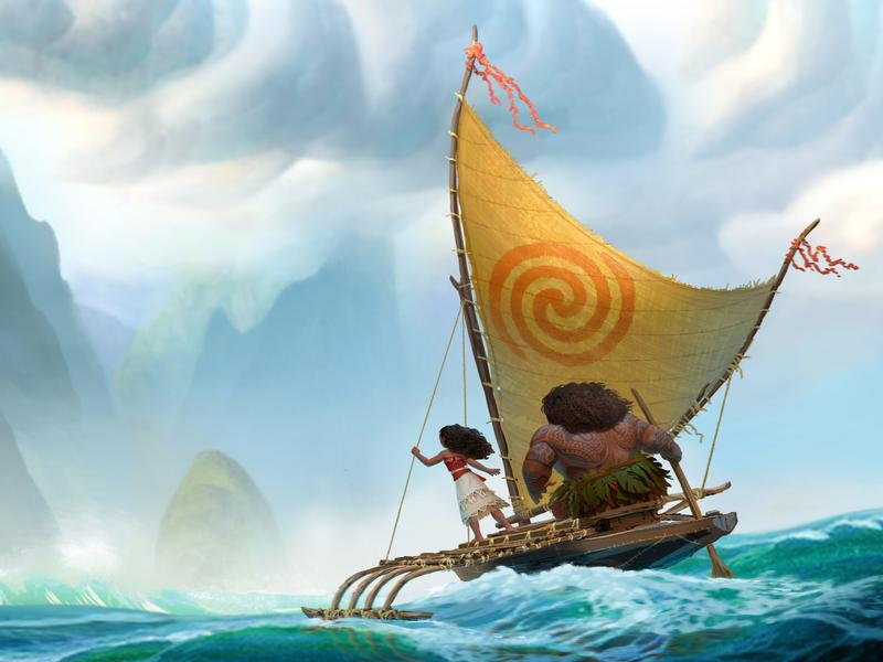 The animated Disney movie <em>Moana</em> is a comedy-adventure about a spirited teenager on a mission to fulfill her ancestors' quest.