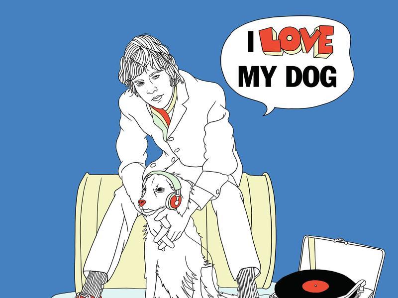 """Cover for Yusuf / Cat Stevens remake of """"I Love My Dog"""""""