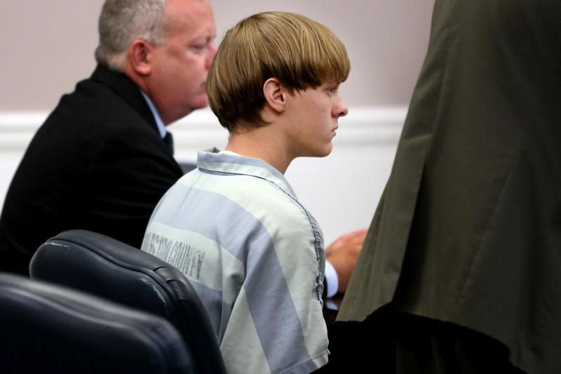 Dylann Roof appears at a court hearing in Charleston, S.C., on Thursday, July 16, 2015. (Grace Beahm/The Post and Courier via AP, Pool)