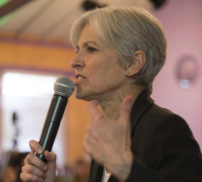 Green Party presidential candidate Jill Stein in Oakland, Calif., in October 2016. (D. Ross Cameron/AP)