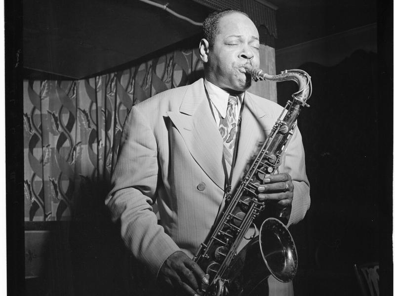 """The first volume of <em>The Savory Collection</em> features live recordings of Coleman Hawkins, including an extended performance of """"Body & Soul."""""""