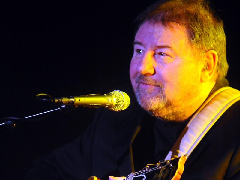 Greg Lake performs in a solo at Auditorium Manzoni on December 2, 2012 in Bologna, Italy.