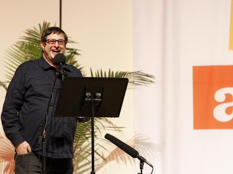 Eugene Mirman on Ask Me Another at Haverford College.