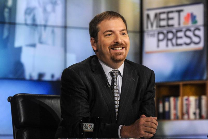 "This file photo shows NBC Political Director and ""Meet the Press"" host Chuck Todd. (William B.  Plowman/AP)"