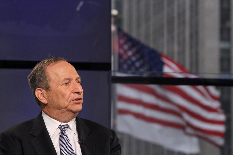 Former Treasury Secretary Larry Summers at FOX Studios in January 2015 in New York. (Rob Kim/Getty Images)