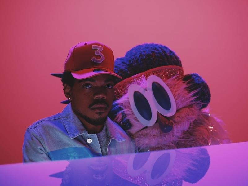 """A still from Chance The Rapper's """"Same Drugs"""" video."""