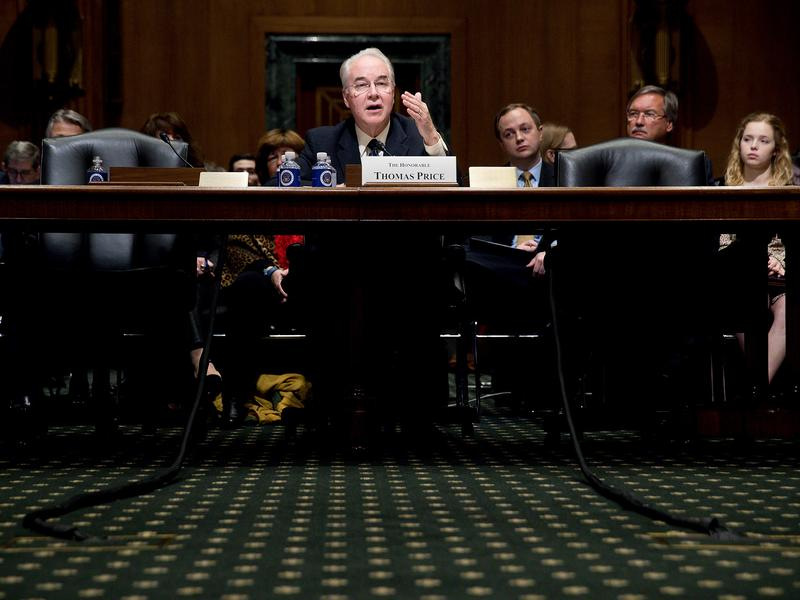 Health and Human Services Secretary Tom Price was part of the GOP Doctors Caucus while he served in the House of Representatives.