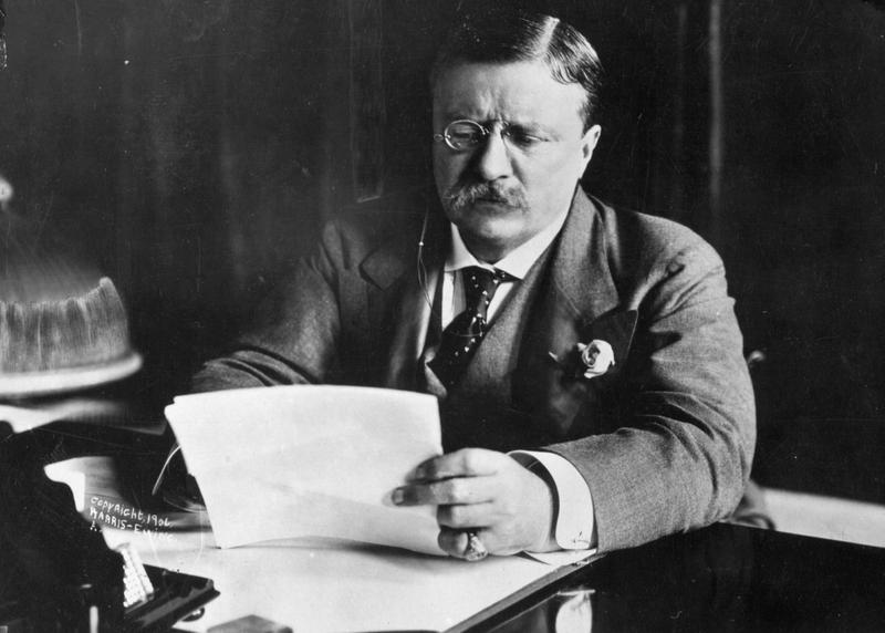 President Theodore Roosevelt, a leading American interventionist. (Hulton Archive/Getty Images)