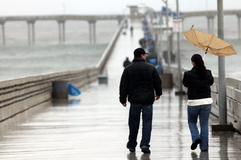 Southern California Trenched In 6th Day Of Rainfall (Sandy Huffaker/Getty Images)