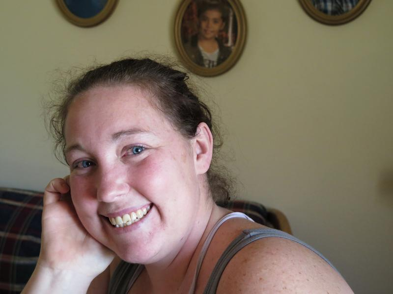 Brandy Holter of La Crosse voted twice for former President Obama, but says she will be voting Republican from now on.
