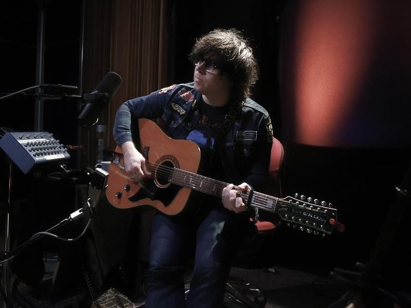 Ryan Adams performs live for KCRW.
