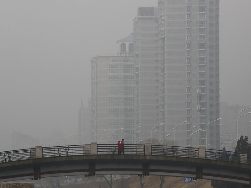 Pollution in Beijing has driven some families to leave the city. A group of Chinese lawyers is suing the governments of Beijing and its surrounding areas for not doing enough to get rid of the smog.