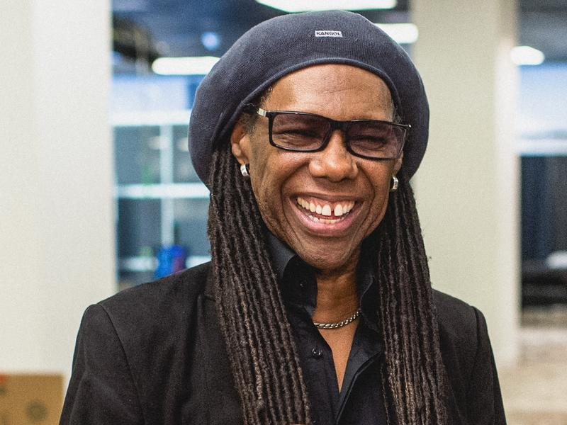 """My life and my career is a real anomaly,"" Nile Rodgers says. ""I mean, I'm a 64-year-old black man with a front-line record deal. It's insane."""