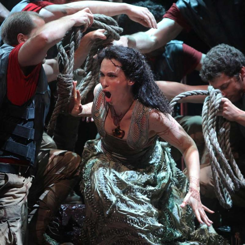 Alexandra Deshorties as Medea at the Glimmerglass Festival
