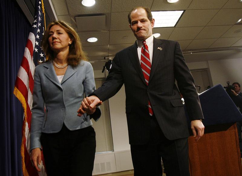 Silda Wall Spitzer and Eliot Spitzer in CLIENT 9: THE RISE AND FALL OF ELIOT SPITZER, a Magnolia Pictures release.
