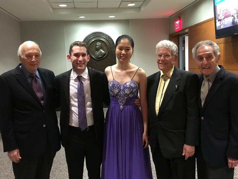 Anna Han and Mackenzie Melemed were the 2016 winners of the Gina Bachauer Piano Competition at The Juilliard School.