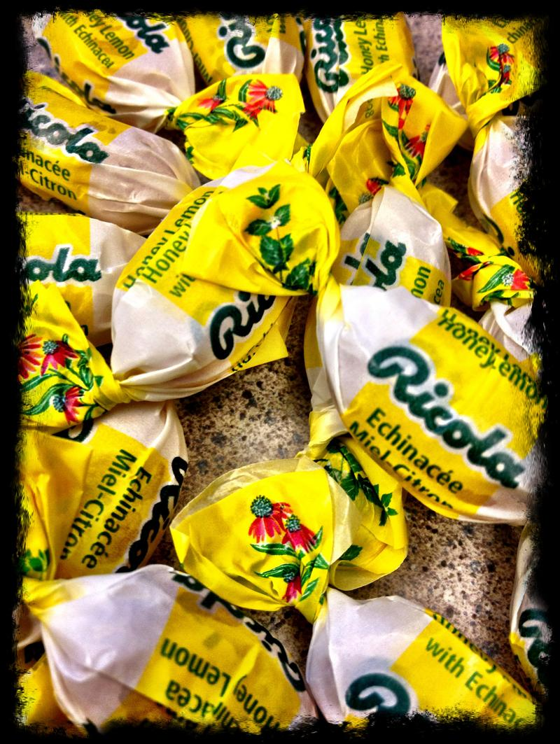 Ricola abounds at Carnegie Hall.