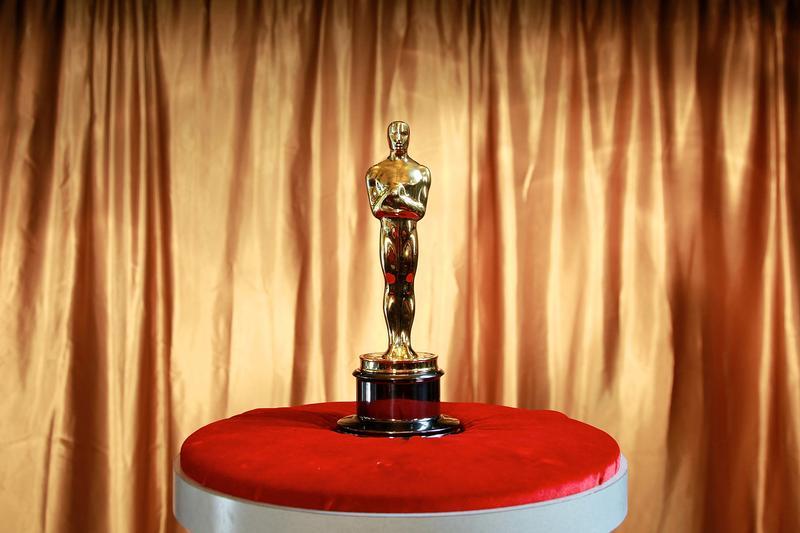 An Oscar trophy at the 83rd Annual Academy Awards.