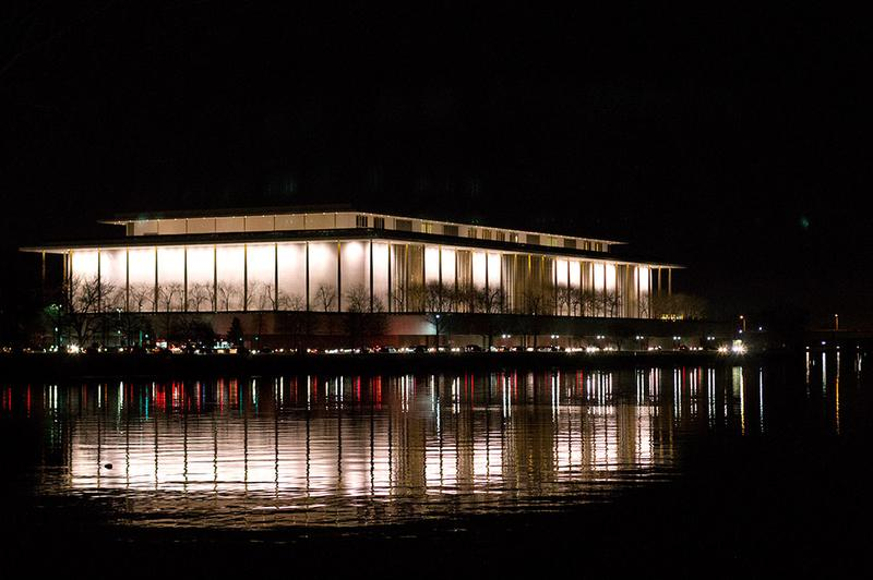 Kennedy Center as seen from Patomic River