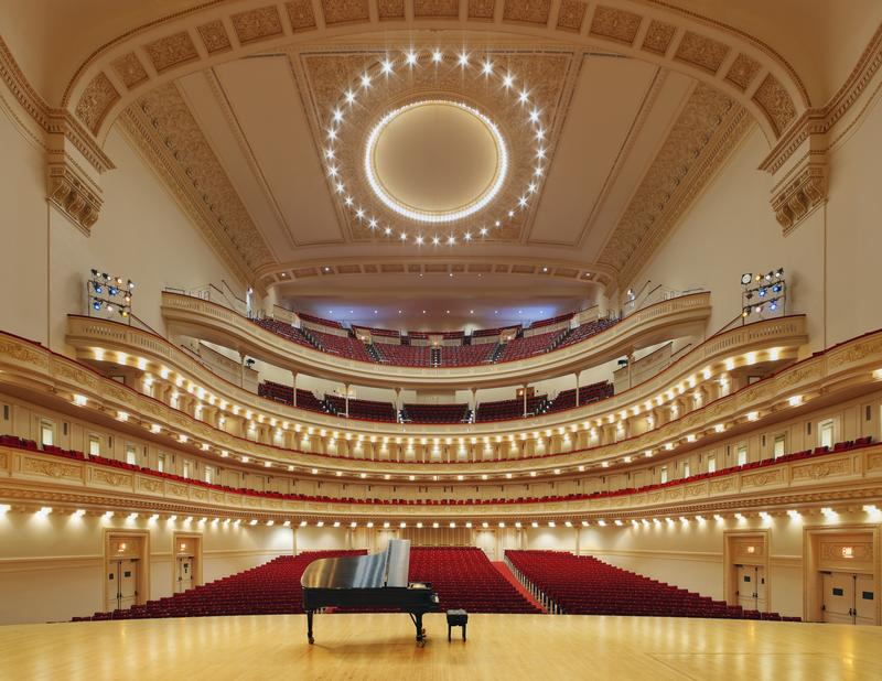 Carnegie Hall's Stern Auditorium.