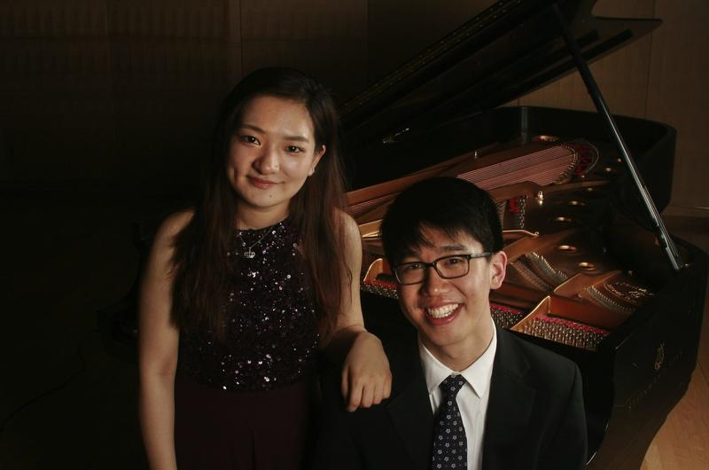 2014 Bachauer Winners Yun Wei and Alan Woo